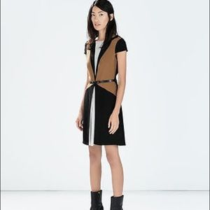 Zara colorblock dress